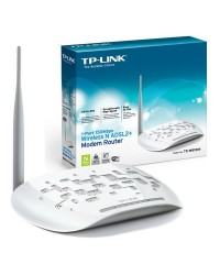 مودم-روتر بیسیم +ADSL2 تی پی-لینک TD-W8151N